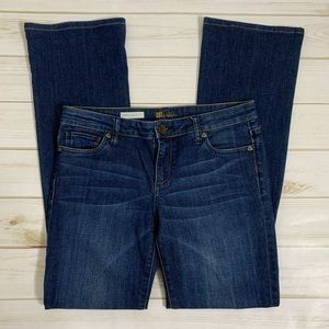 Bootcut denim jeans by KUT from the Kloth